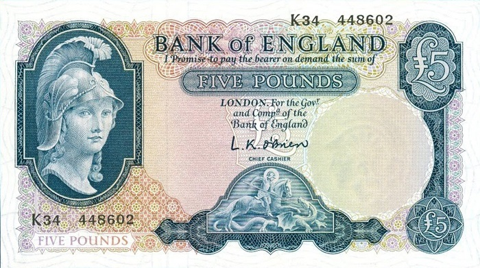 Dating bank of england notes
