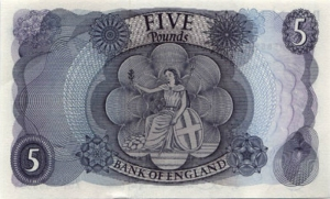 series c five pound note back