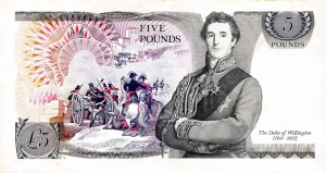 series d five pound note back