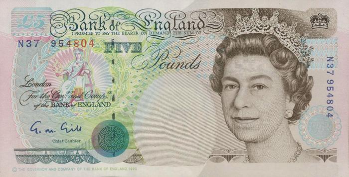 History Of The 5 Pound Note Great British Magazine