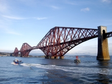 The Forth Bridge Scotland