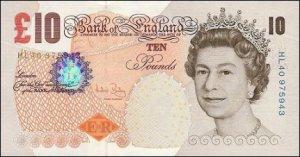 Year 2000 ten pound note redesign